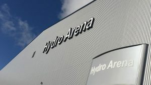 Namninvigning Hydro Arena